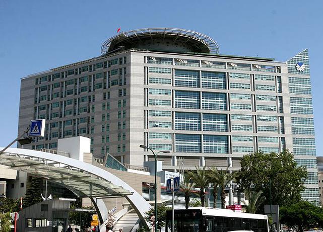 פרויקט בית החולים איכילוב, בנין אשפוז, תל אביב