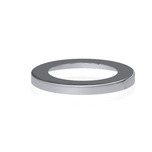 טבעת כסוי תפס קיר לצינור 50 מ